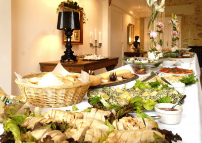 Chateau south west france celebration catering