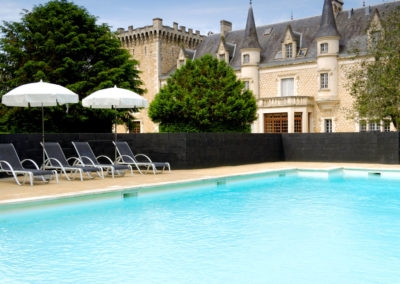 Chateau south west France with enclosed  pool