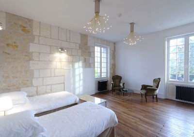 Chateau south west France bedroom suite 5