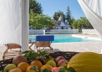 Trullo and gated pool