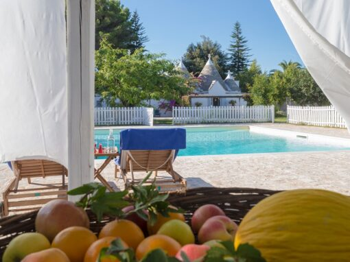 Trullo & Villa in Puglia with Gated Pool