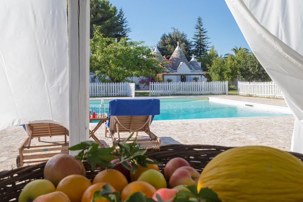 Trullo & Villa in Puglia with Gated Pool