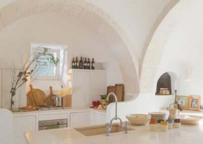 Puglia Trullo kitchen