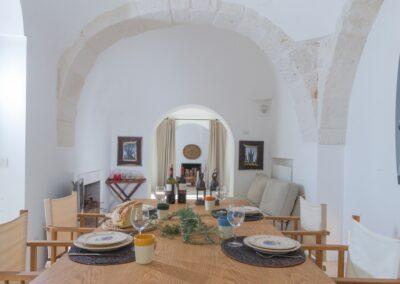 Puglia trullo dining