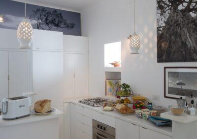 Puglia villa kitchen