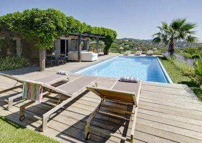 luxury villa Cote d'Azur pool 3