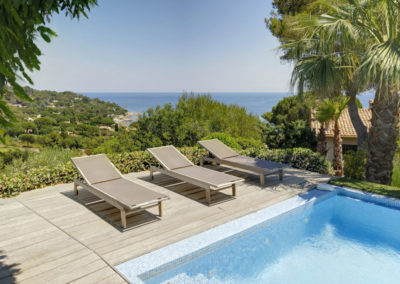 luxury villa Cote d'Azur pool