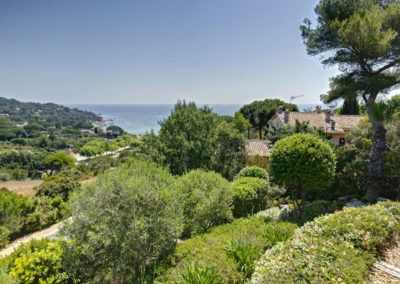 luxury villa Cote d'Azur sea views 2