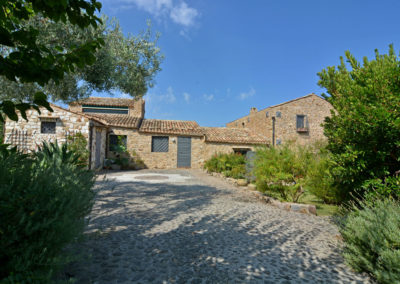 Luxury villa in Sicily a converted farmhouse