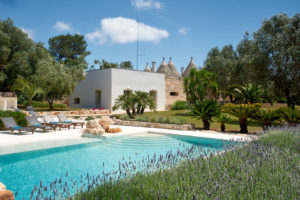 Trulli Puglia with pool
