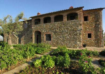 Tuscany villa kitchen garden