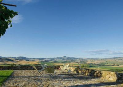 Tuscany villa view