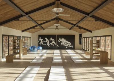 Tuscany Villa Yoga room