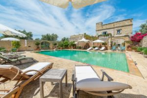 A converted masseria with pool in Puglia