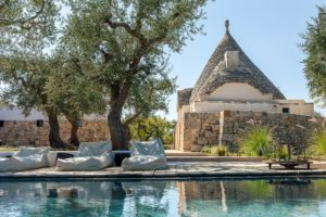 A Trullo house in Puglia with private pool