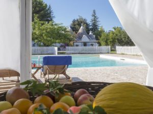 Child friendly trullo and villa with gated pool
